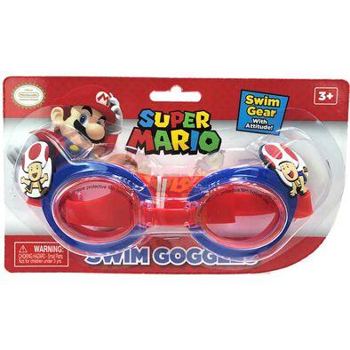 Nintendo Super Mario Mushroom Swim Goggles