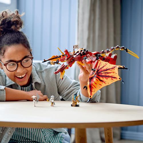 LEGO Ninjago Fire Dragon Attack 71753