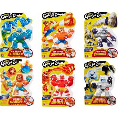 Goo Jit Zu Hero Single Pack - Assorted