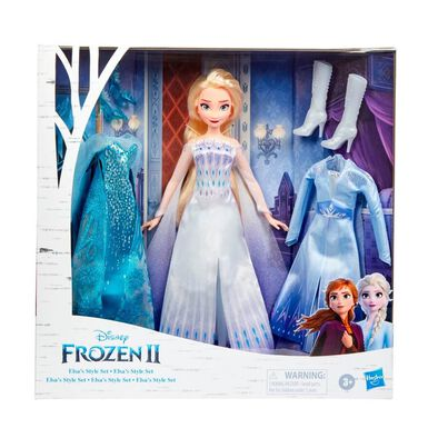 Disney Frozen Elsa's Style Set Fashion Doll
