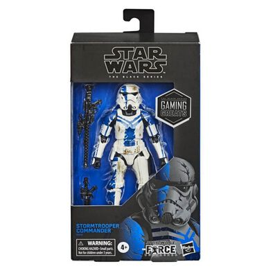 Star Wars The Black Series Gaming Greats Stormtrooper Commander Toy