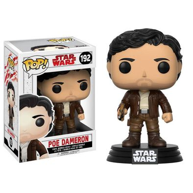 Pop! Star Wars Vinyl Bobble-Head 192 Poe Dameron