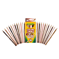 Crayola Colors Of The World 24 Count Colored Pencils