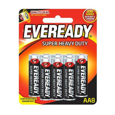 Eveready Super Heavy Duty AA8
