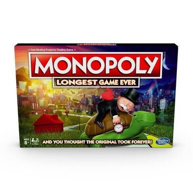 Monopoly Longest Game Ever Board Game