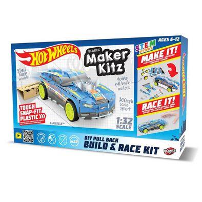 Hot Wheels Maker Kitz Single Car Blue - Assorted