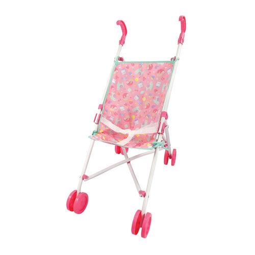 Baby Blush Baby Stroller Lovely Llamas (Pink & White)