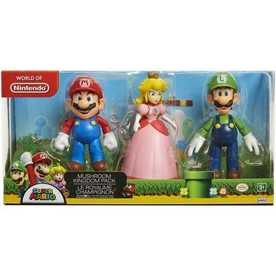 Nintendo Super Mario 4 Inch Figure Set