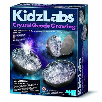 4M KidzLabs Geode Crystal Growing