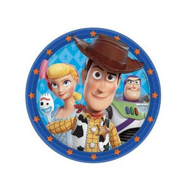 Toy Story Round Plate 23cm