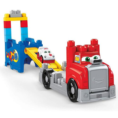 Mega Bloks First Builders Build and Race Rig