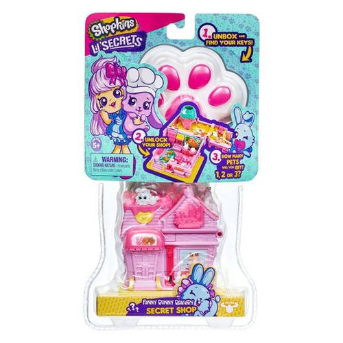 Shopkins Lil Secrets Bunny Bakery