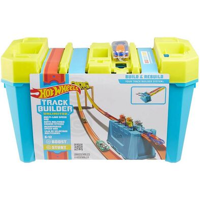Hot Wheels Track Builder Unlimited Multi Lane Speed Box
