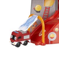 Speed City Junior Fire Station Playset