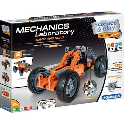 Clementoni Mech Lab Buggy and Quad