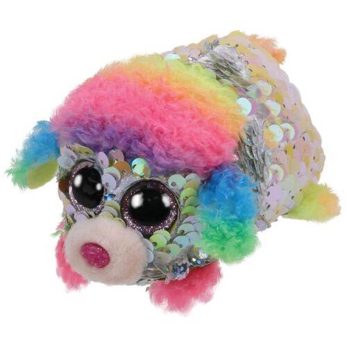 Ty Teeny Tys Rainbow Sequin Multicoloured Poodle