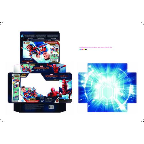 Marvel Spider-Man Far From Home Web Shots Spiderbolt NERF Powered Blaster