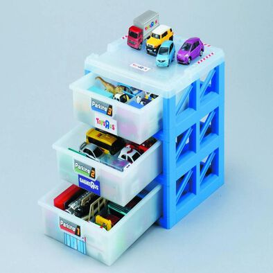 """Takara Tomy Parking Case With Tomica (Toys""""R""""Us Exclusive)"""