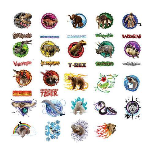 Orb Arcade Capsules Sqwishland Wild Kingdom and Dinosaurs