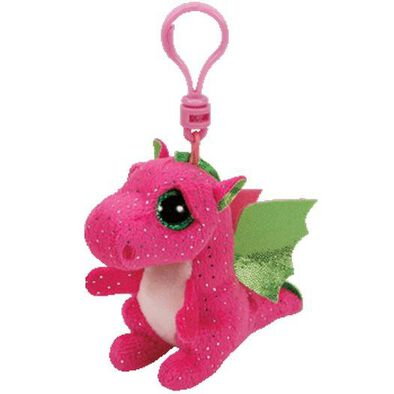 Ty Beanie Boos 5 Inch Clip Darla The Pink Dragon
