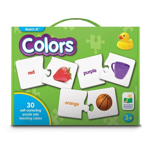 The Learning Journey Match It! Colors