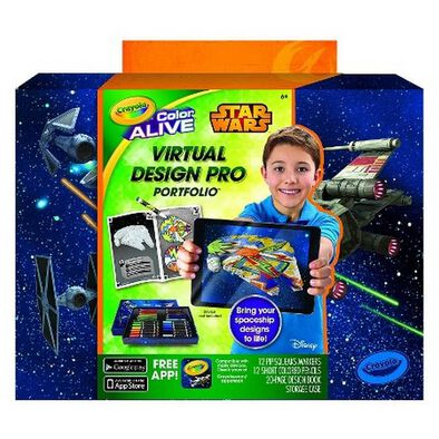 Crayola Colour Alive Star Wars Virtual Design Pro Portfolio