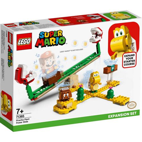 LEGO Super Mario Piranha Plant Power Slide Expansion Set 71365