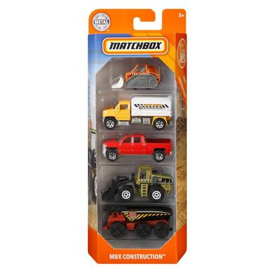 Matchbox Construction 5-Pack