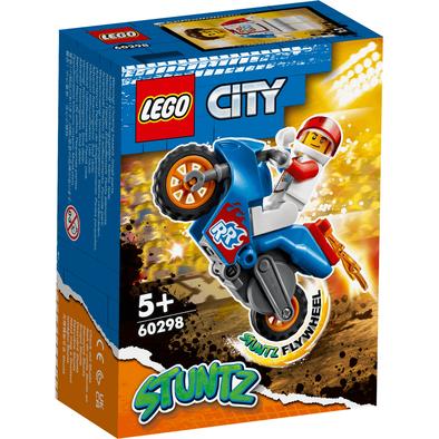 LEGO City Stunt Rocket Stunt Bike 60298