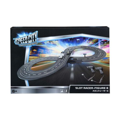 Speed City Slot Racer Figure 8