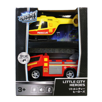 Speed City Little City Heroes