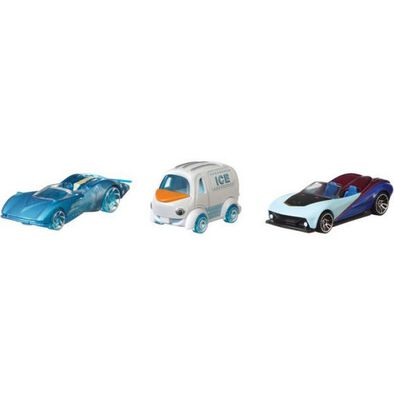 Hot Wheels Frozen Bundle Vehicles