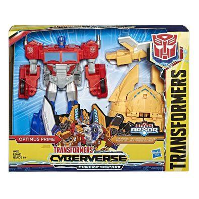 Transformers Cyberverse Spark Armor Optimus Prime