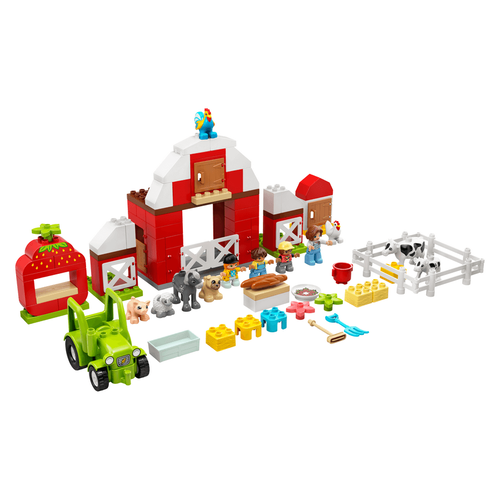 LEGO Duplo Town Barn, Tractor & Farm Animal Care 10952