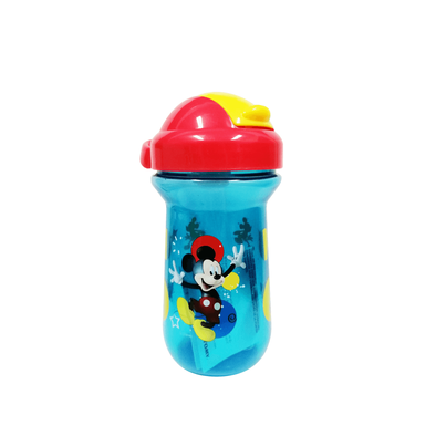 The First Years Disney Mickey Mouse 10oz Flip Top Straw Cup