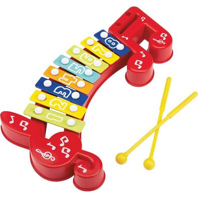 BRU Pre-School 8-Key Xylophone