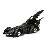 Metals Die Cast DC Comics Batman 1:32 1995 DC Comics Batman Forever Batmobile