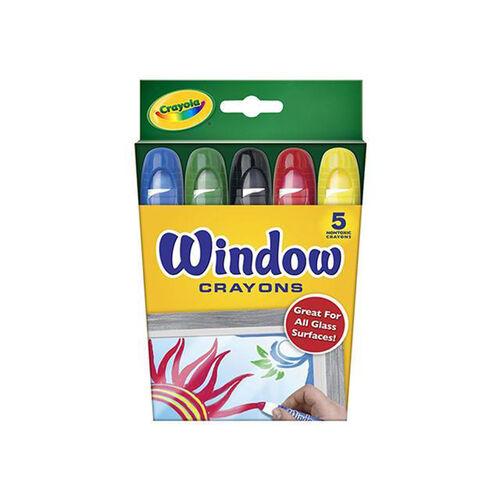 Crayola 5Ct Window Crayons