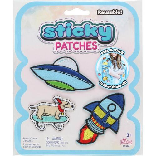 Sticky Patches UFO 102