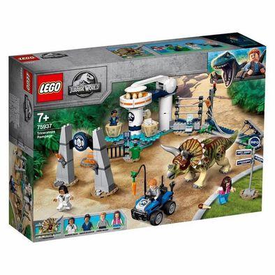 LEGO Jurassic World Triceratops Rampage 75937