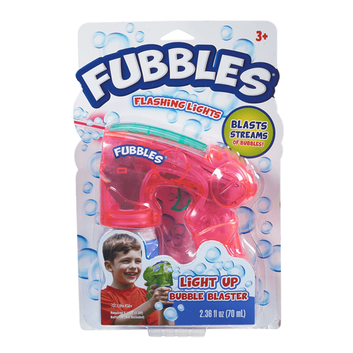 Fubbles Light Up Bubble Blaster