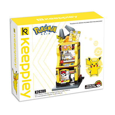 Qman Keeppley Pokémon Pikachu Claw Crane Game Shop