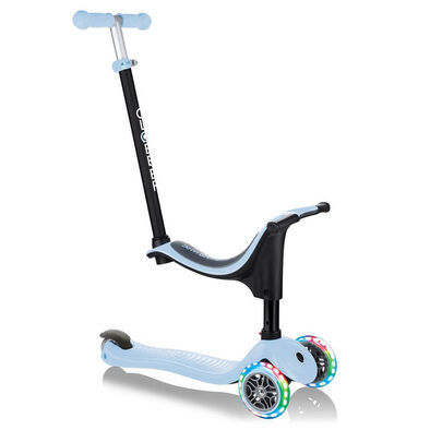 Globber Go•Up Sporty Lights Pastel Blue Toddler Scooter