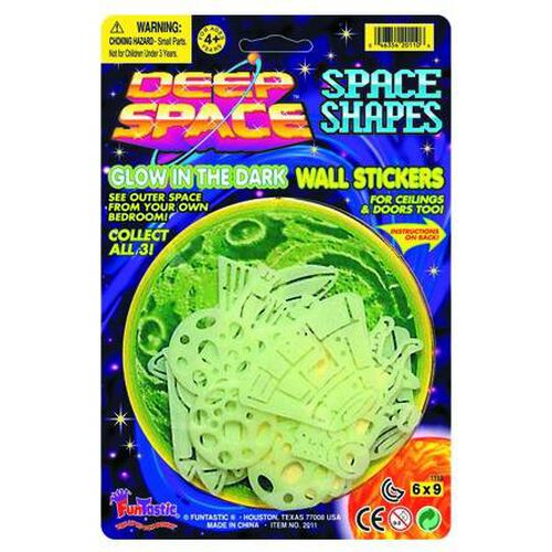 Deep Space Shapes - Assorted