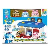 Robocar Poli Pop-Up Rescue Center