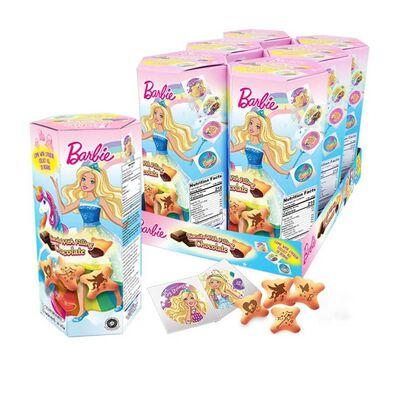 Barbie Biscuits With Chocolate Filling