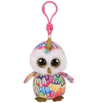 Ty Beanie Boos Enchanted Owl With Horn Clip