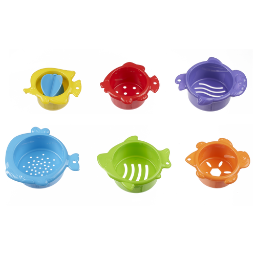 Top Tots Bath-Time Animal Sieves