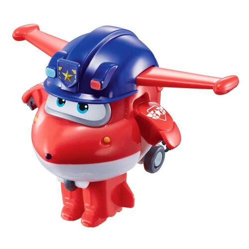 Super Wings Transform-A-Bots Police Jett