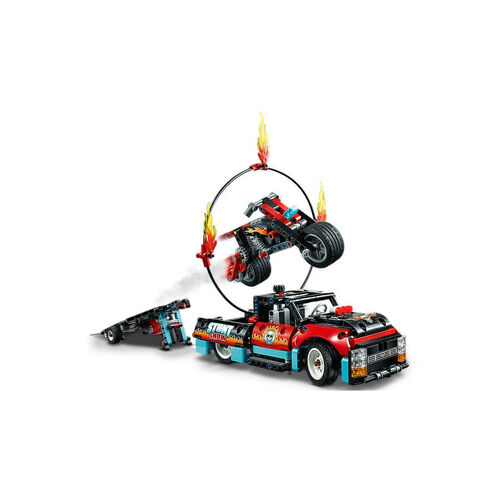 LEGO Technic Stunt Show Truck and Bike 42106